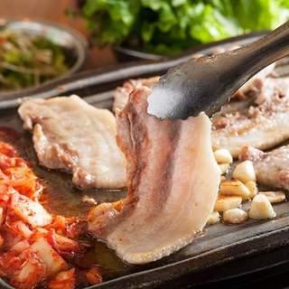 韓国料理と言えば!絶品★サムギョプサル