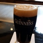 ステーキ池田 - ステーキ池田のギネスビール。