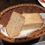 48482972 - パスタランチのパン