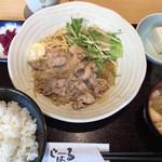 食楽酒場じばる - 豚の生姜焼き定食