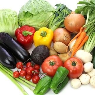 こだわりの有機無農薬食材