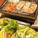 韓のおしり - クリスピーサムギョプサルです。