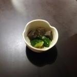 寿司居酒屋のぼる - お通し@430円
