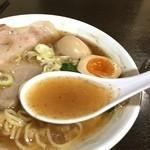 タブー・ザ ボニート - スープは脂はあるけど、しつこさは無いです