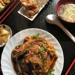 久香亭 - 麻婆茄子飯セット