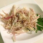 ビヤバタフライ - ミョウガのサラダ