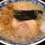 麺工房 華みずき - 塩ギトラーメン ¥600