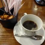 南大門 - サービスコーヒー