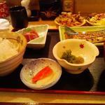 香車 - 焼魚定食:太刀魚照焼き 840円