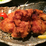 餃子鍋 A-chan 北新地 - 定食の唐揚げ