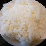 天丹 - ご飯は大盛で供されます