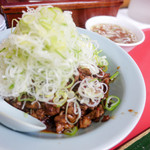 菜苑 - 純レバ丼セット
