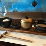 鳴尾山芋研究所 フラットブッシュ - 自然生麦とろろめし