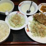 桂園 - 唐揚げ定食
