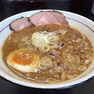 水輝 - 私の食べた、TORI豚白湯ラーメン美味しい〜ン♪