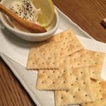 まんま屋台 まるまる - 豆腐チーズ…だったかな^^;