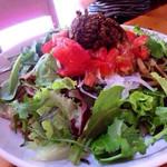 つかさ - インディアン焼きそば ピリ辛ひき肉と山盛り野菜