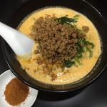 48514261 - 天竜担担麺(1辛)(800円)+5辛アップトッピング(50円)