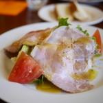 オステリア チ ヴェディアーモ - ランチタイムのサラダ