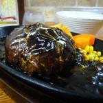 ハンバーグレストラン まつもと - ハンバーグ特性ブラックデミグラスソース