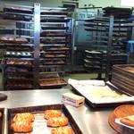 パン・メゾン 松前店 - 無くなっても、塩パンはどんどん焼いていました。
