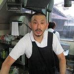 ひろせ食堂 - 男前、ケンバンドのケンさんに似てます