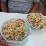 ひろせ食堂 - てんこ盛り焼飯 これで普通サイズ