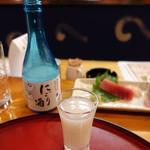 """ばなゝや - 吉乃川の""""にごり酒"""""""