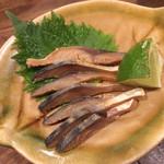 炭焼と釜飯 さかぐち - 鯖へしこ
