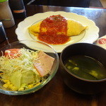 ライラック - 完熟トマトソース800円(税込)