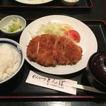 とんぼ - ロースカツ定食