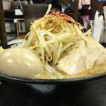 麺賊 夢我夢中 - 味玉豚基本 ¥890-  野菜マシ 2016.3.12 Sat.