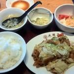 大阪王将 - ホイコーロー定食