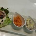 フトゥロ カフェ - セットの前菜