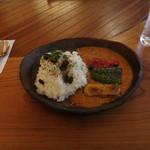 名栗の杜 - 料理写真:野菜カレー