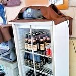 バーベキューガーデン - ビールなどはセルフです