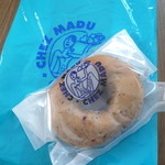CHEZ MADU - ブルーベリーチーズベーグル