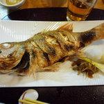 4853252 - 高級魚のどぐろの塩焼き。