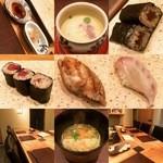 鮨ふじ田 - ☆2種類のシャリが楽しめました(●^o^●)☆