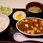 48533083 - ランチセット・麻婆豆腐(オープン価格425円、通常は850円)