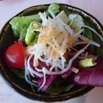 近江牛レストラン ティファニー - サラダ
