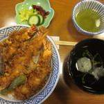 48535334 - えび天丼セット 1900円
