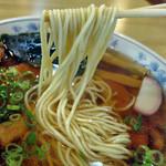 味の杉浦 - しゅっとした麺です