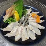 鮨隆 - 料理写真:穴子の薄造り