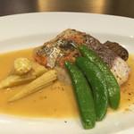 Bistrot a Vin Les Vignes - 本日のお魚 鱈