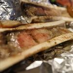 焼肉の果て - 牛骨髄焼き