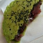 京煎堂 祇園本店 - つぶあんぎっしり♪生地からするお茶のかおりも◎