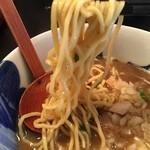 青森煮干し中華そば JIN - 麺2016.01