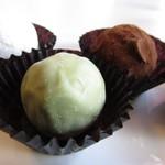 ショコラティエ バラノフ - ウォッカ、抹茶、チョコレートクリーム