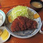 48542355 - 「国産厳選豚ロースカツ定食」200g 1,150円(2016年02月)
